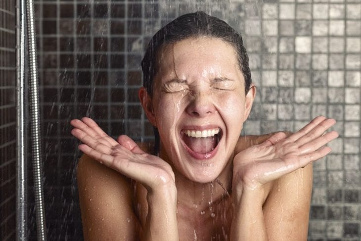 The benefits of taking a cold shower
